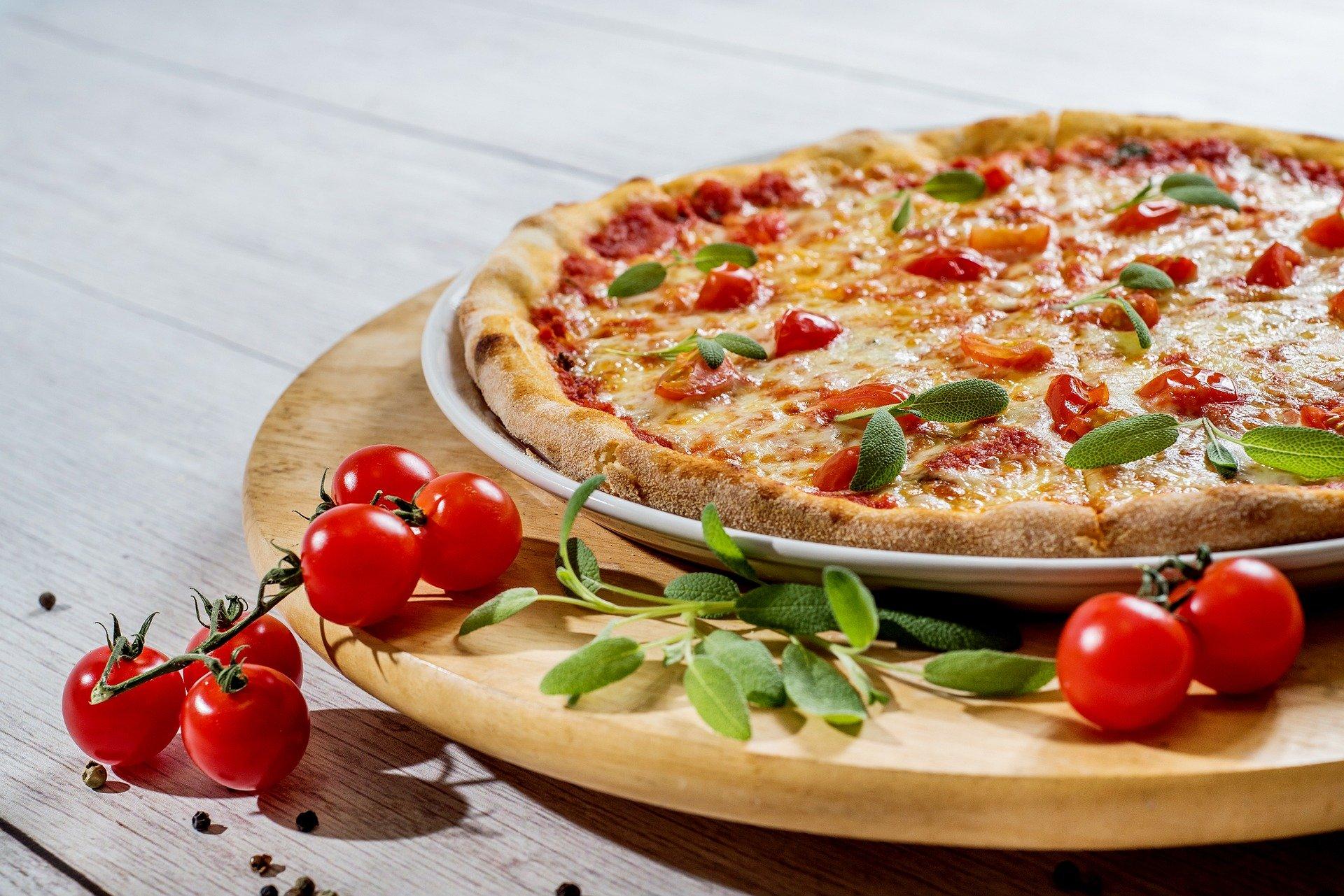 ピザに関する英語表現
