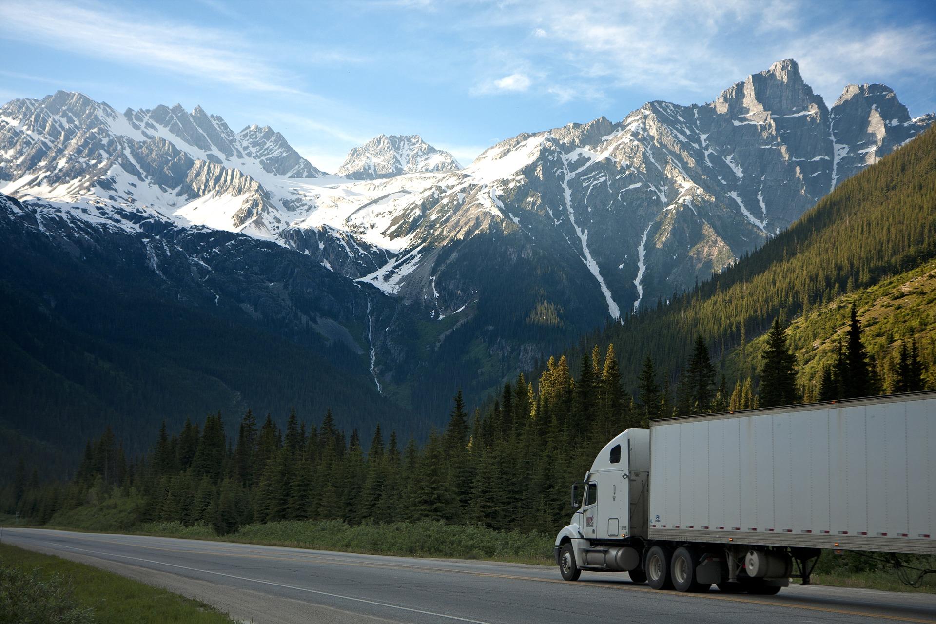 トラックについての英語表現