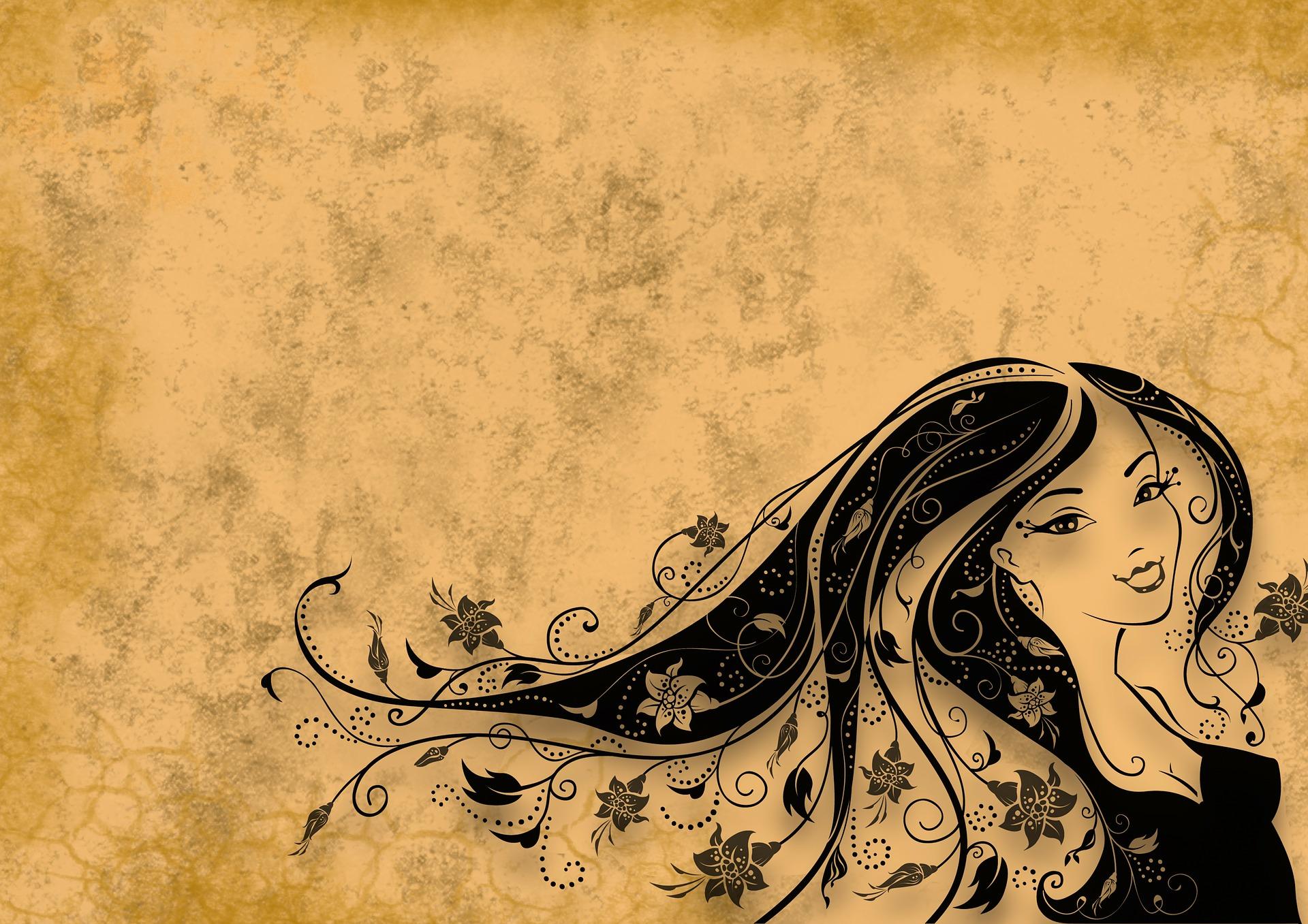 髪の毛に関する英語表現